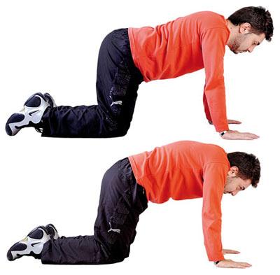 4 حرکت ساده برای رهایی از کمر درد + عکس