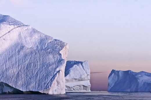 عکس های جالب و زیبا از توده های عظیم یخ