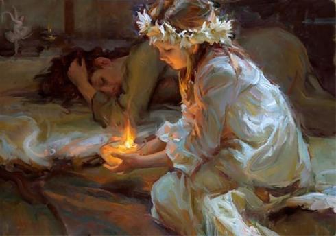 نقاشی های عاشقانه و رمانتیک اثر دانیل اف گرهارتز