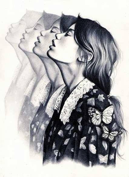 طرح های زیبا از نقاشی های عاشقانه انیمیشنی