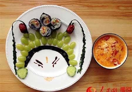 تزیین صبحانه ای اشتهاآور و خوشمزه به سبک چینی+عکس