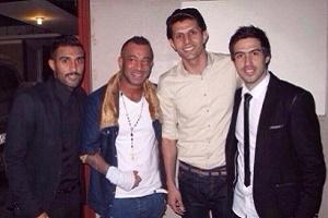 امیر تتلو در راه فوتبالیست شدن+عکس