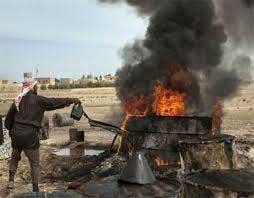 داعش از فروش نفت عراق سود های کلانی می کند!