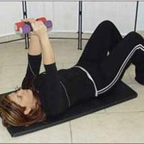 افتادگی سینه را با ورزش درمان کنید+عکس