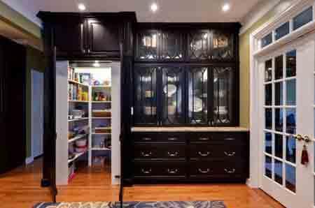 طراحی مدرن و جدید قفسه برای کابینت