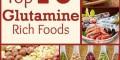 10 ماده غذایی که گلوتامین فراوانی دارند!