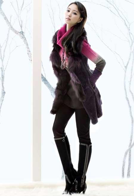 مدل های جدید و شیک پالتو بافتنی و مانتو دخترانه