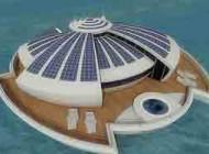 یک هتل شناور خورشیدی در ایتالیا ساخته شد+عکس