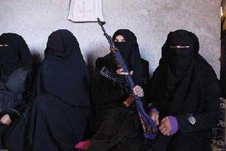 زنان و دختران حرمسرای خلیفه داعش(عکس)