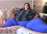 چاق ترین زن جهان با 317 کیلوگرم وزن (عکس)
