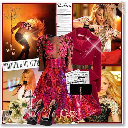 ست لباس به رنگ سال 2015 به سبک ستارگان هالیوودی