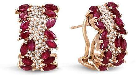 مدل طلا و جواهرات عنابی رنگ سال 94
