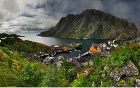 عکس هایی دیدنی از قشنگ ترین روستاهای جهان