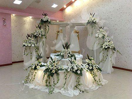 عکس های چیدمان و تزیینات جایگاه عروس و داماد (2)