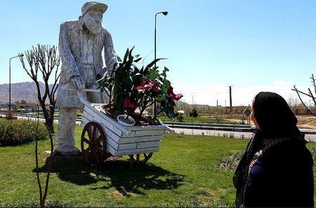 عکس های جالب مجسمه های زیبا و دیدنی درشهر تهران