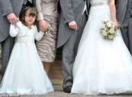 دختر فلج در جشن عروسی شفا پیدا کرد و رقصید(عکس)
