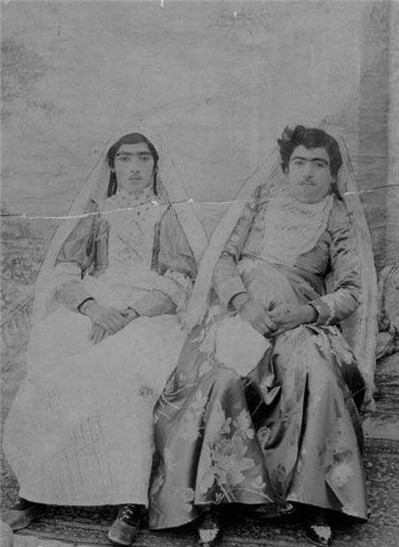 عکس دختر فاحشه و بی بند و بار در دوره قاجاریه
