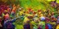 جشن جالب و دیدنی هولی یا جشن رنگ پاشی در هند (تصاویر)