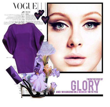ست لباس بهاره زیبا به سبک ادِل خواننده مشهور بریتانیایی