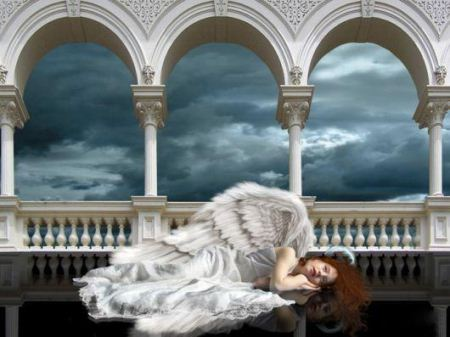 عکس نقاشی فانتزی عاشقانه و رمانتیک جدید