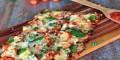 طرز تهیه و آموزش درست کردن پیتزای مرغ بدون خمیر