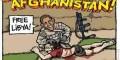 تجاوز اوباما به یک افغانی جنجالی شد (عکس)