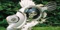 عکس های جالب از موجودات دست ساز با قالپاق خودرو