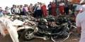 عکس های وحشتناک ترین تصادف در ایران