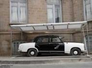 اولین تاکسی در ایران که مالک آن یک زن بود (عکس)