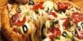 پیتزای دراز 1595 متری در میلان ایتالیا طبخ شد! عکس
