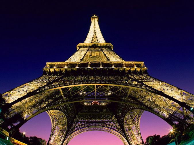 عکس هایی دیدنی از شهر بسیار زیبای پاریس و برج ایفل