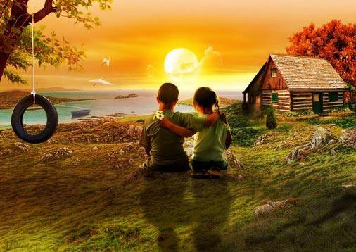 تصاویراحساسی و عکسهای عاشقانه رویایی دختر و پسر