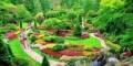 زیباترین و بهترین باغ های دیدنی جهان با گل های نادر