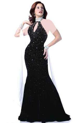 جدیدترین نمونه های زیبا و شیک مدل لباس شب 2015