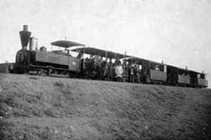 تونل زمان : عکس اولین قطار در ایران