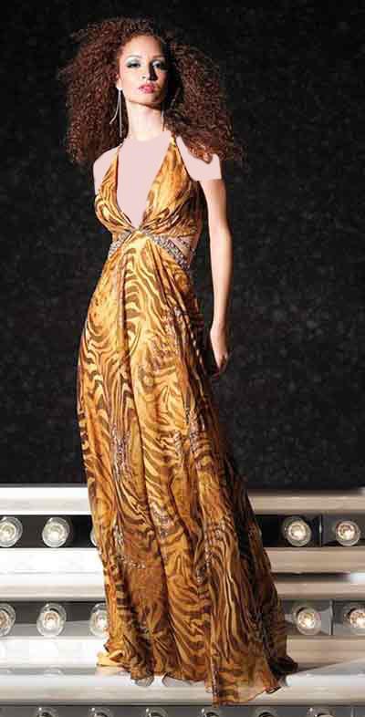 جدیدترین نمونه های زیبا و شیک از مدلهای لباس شب 2015