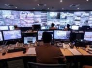 عکس اتاق کنترل دوربین های مداربسته مسجد الحرام