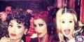 عکس جنیفرلوپز با آرایش عجیب و دیدنی درشب هالووین