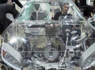 عکس اتومبیل عجیب و جالب با بدنه شیشه ای و شفاف