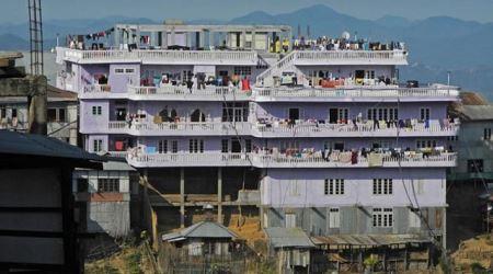 زندگی عالی مردی با 39 همسر در یک خانه 4 طبقه