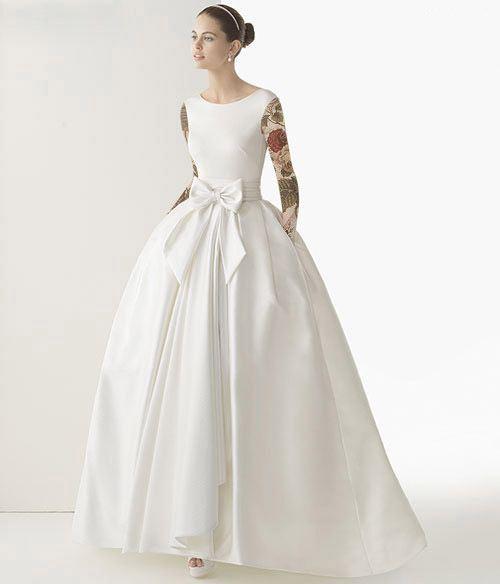 ژورنال شیک ترین مدلهای لباس عروس فیری سایز