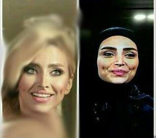 تیپ الهام عرب در محرم، دختر مدلینگ در برنامه ماه عسل