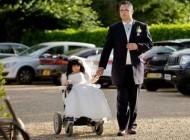 ازدواج دختر 80 سانتی با مرد جذاب 180 سانتی + عکس