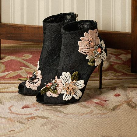 شیک ترین مدل کفش های زمستانی زنانه D & G جدید