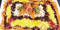 آموزش تصویری زیباترین تزئینات پلو برای میهمانی ها