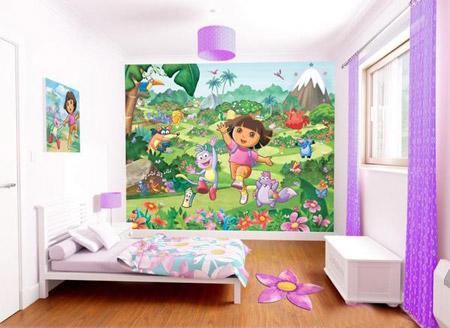 آلبوم تصویر کاغذ دیواری فانتزی و زیبا برای اتاق کودک