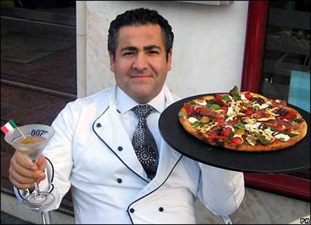 رستورانی با پیتزای 3 میلیون تومانی (عکس)
