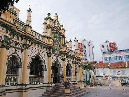 معرفی مسجد عبدالغفور مکان زیارتی در سنگاپور (عکس)