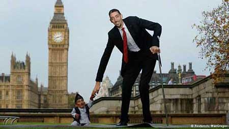 عجیب و غریب ترین مردان غیر طبیعی دنیا (عکس)