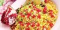 آموزش درست کردن و طرز تهیه انار پلو با مرغ مخصوص شب یلدا